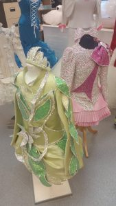 Showroom Irish dancing dresses