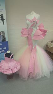 Showroom mother and daughter Christening gowns