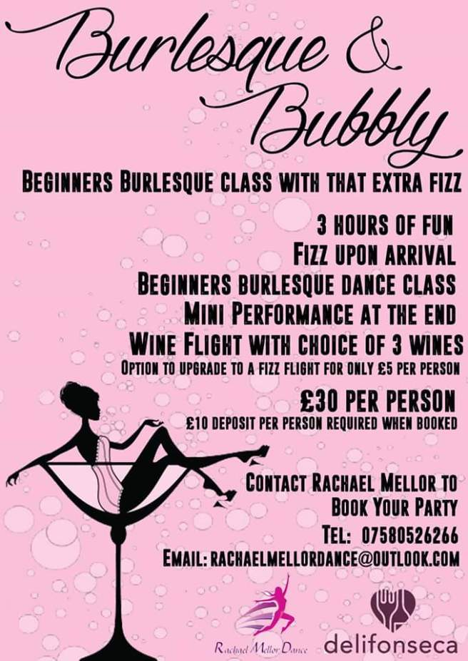 Burlesque and bubbly